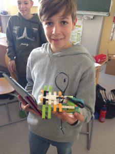 Wirbellose konstruieren mit Lego WeDo 2.0 (Klasse 2A) 5