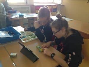Wirbellose konstruieren mit Lego WeDo 2.0 (Klasse 2A) 3