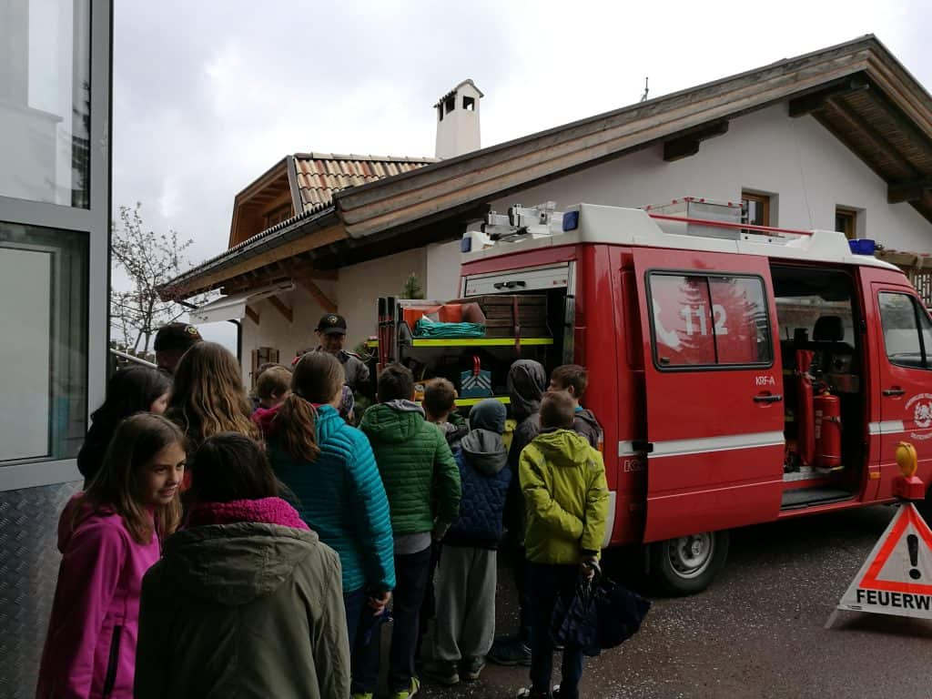 Spektakulärer Projekttag in der Grundschule Deutschnofen 7