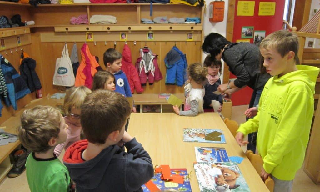Lesewölfe/Lesewölfinnen im Kindergarten 2