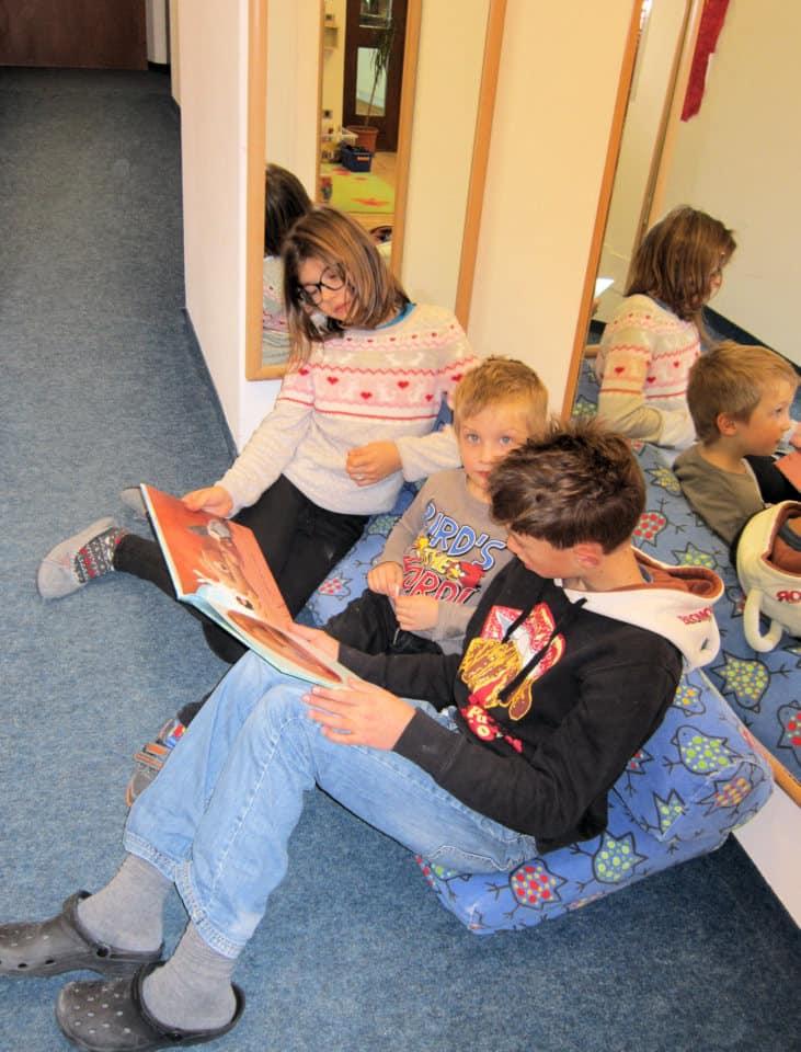 Lesewölfe/Lesewölfinnen im Kindergarten 4