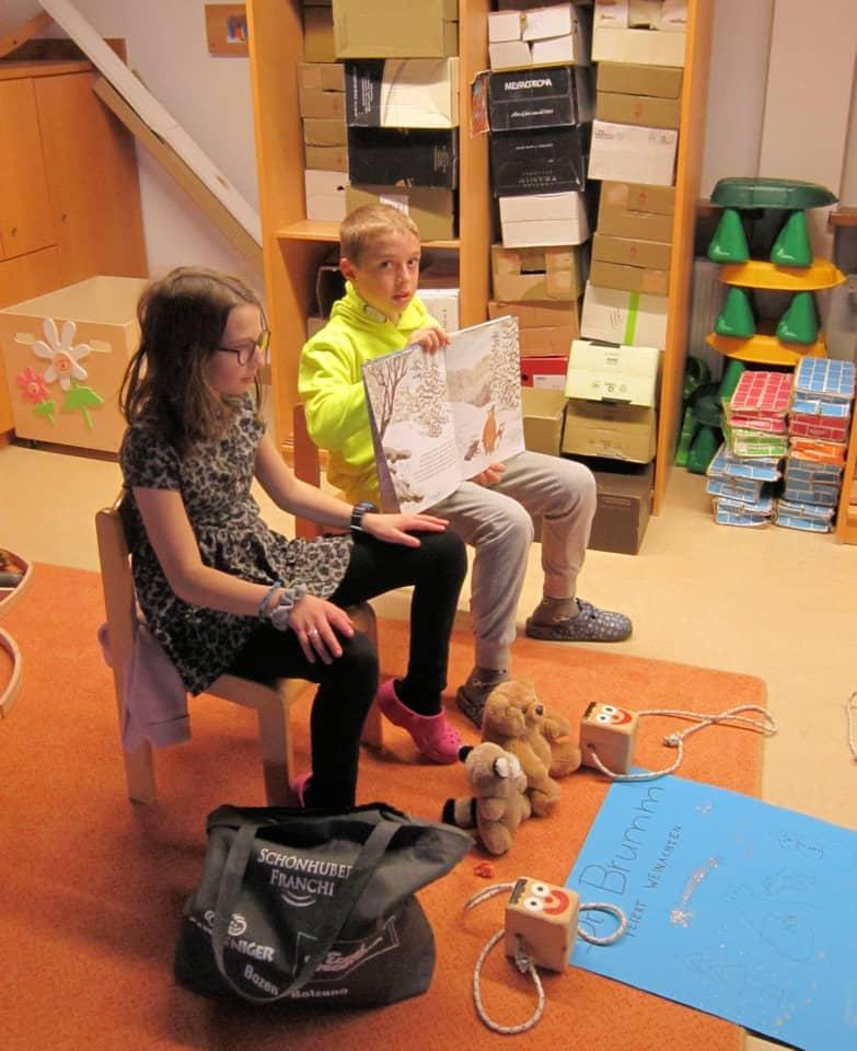 Lesewölfe/Lesewölfinnen im Kindergarten 6