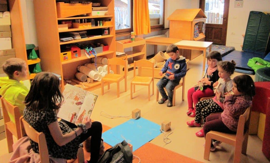 Lesewölfe/Lesewölfinnen im Kindergarten 8