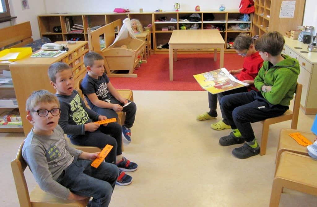 Lesewölfe/Lesewölfinnen im Kindergarten 10