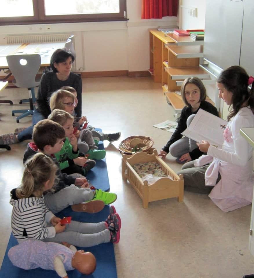 Lesewölfe/Lesewölfinnen im Kindergarten 12