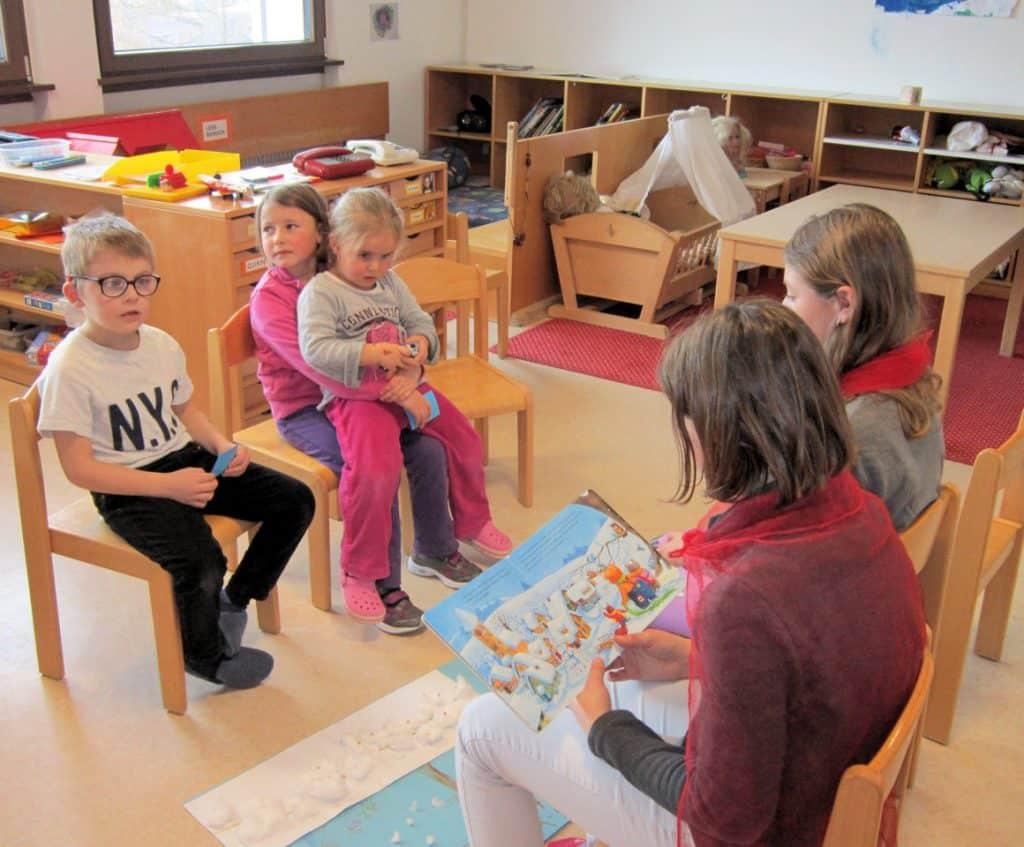 Lesewölfe/Lesewölfinnen im Kindergarten 16