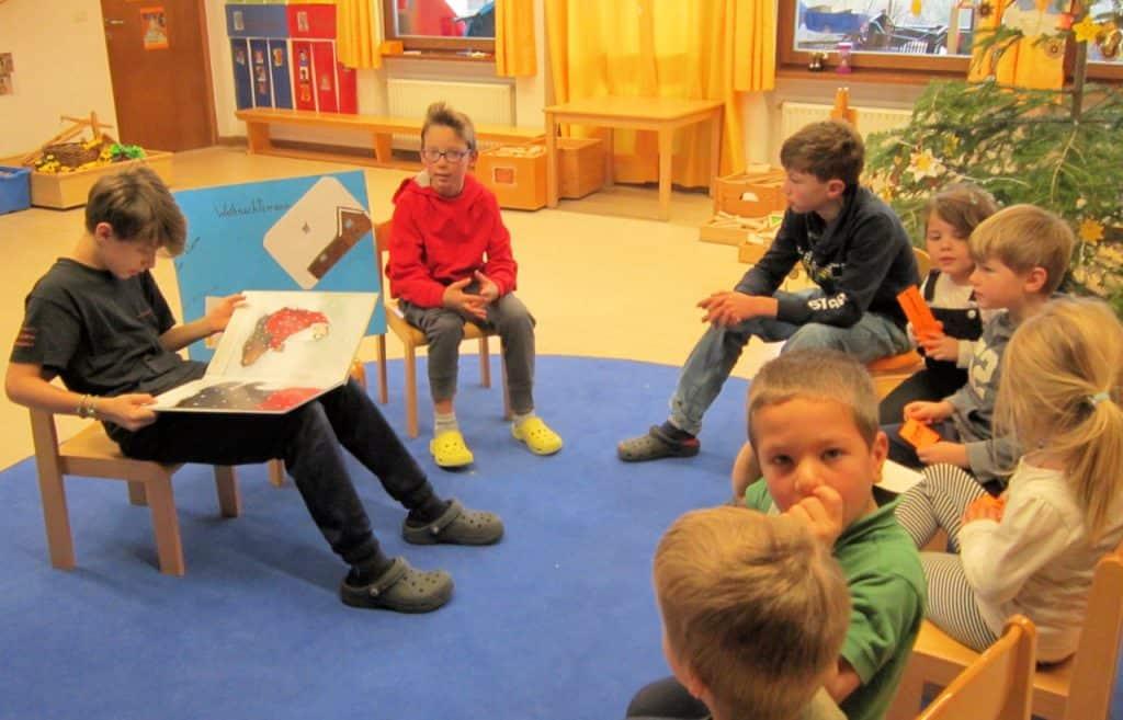 Lesewölfe/Lesewölfinnen im Kindergarten 22